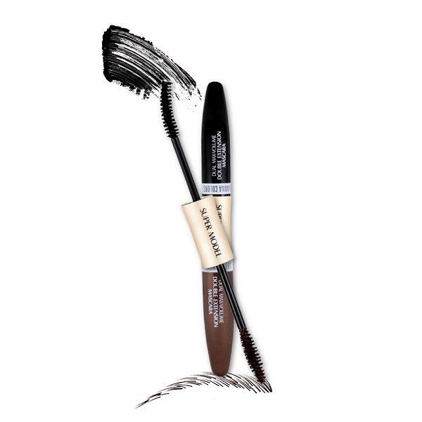 Тушь Для Ресниц 2in1 С Двойным Удлинением Sivanna Colors Double Extension Mascara Hf901