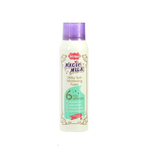 Пенка Для Очистки Лица Dollyqueen Magic Milk Milky Soft Whitening Foam