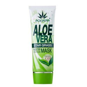 Ночной Крем-Маска с Алоэ Вера Polvera Aloe Vera Star Grass Sleeping Mask, 20 гр.