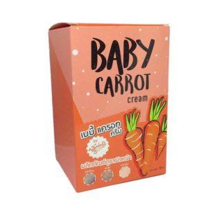 Крем с экстрактом моркови для лица