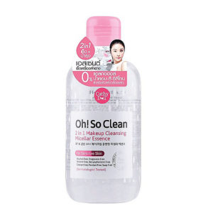 Мицеллярная Вода 2в1 Cathy Doll Oh So Clean 2in1 Makeup Cleasing Micellar Essence