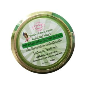 Крем-Пудра Pretty Powder Green Foam