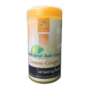 Скраб для тела с имбирем и лимоном
