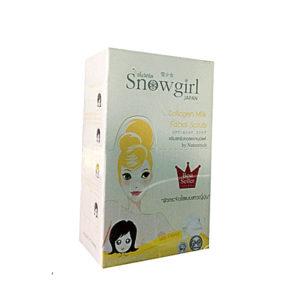 Скраб Для Лица С Молоком И Коллагеном Snowgirll Collagen Milk FacialL Scrub