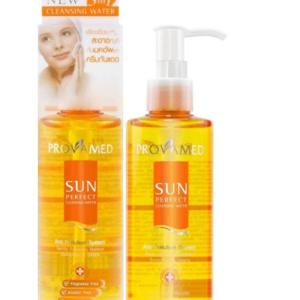 Тоник С Гиалуроном, Морскими Водорослями, Витамином Е и SPF 25 Фильтром Provamed Sun Perfect Cleansing Water