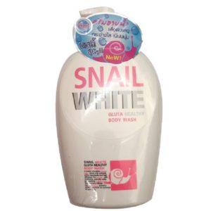 Кремовая Пена Для Душа Со Слизью Улитки И Глутатионом Snail White Gluta Healthy Body Wash