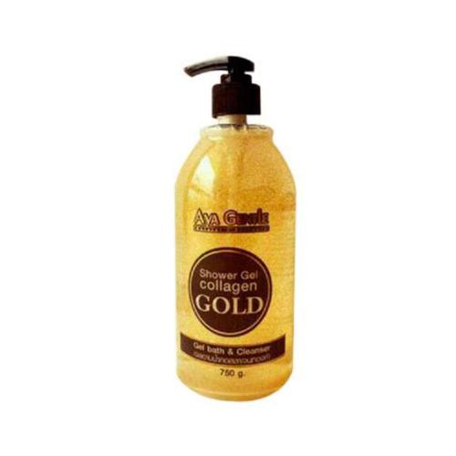 Гель Для Душа С Алоэ Вера Aya Gentle Shower Gel Collagen Gold Bath & Cleanser