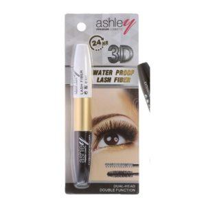 Тушь Для Ресниц Ashley 3D Lash Fiber Mascara A-192 #02 Black