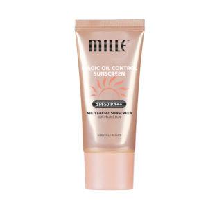 Солнцезащитный Крем SPF 50 PA++Mille Magic Oil Control Sunscreen SPF50 PA++