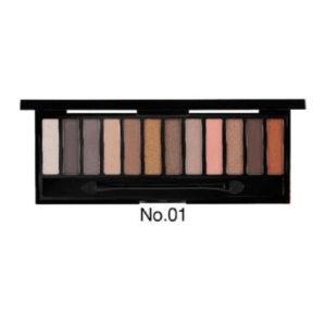 Палетки Теней Для Глаз 12 Цветов Odbo 12 Shades Eyeshadow