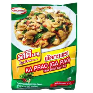 Приправа Для Мясных Блюд Пад Ка Пао С Базиликом Ajinomoto Ka Prao (Ga Pao)