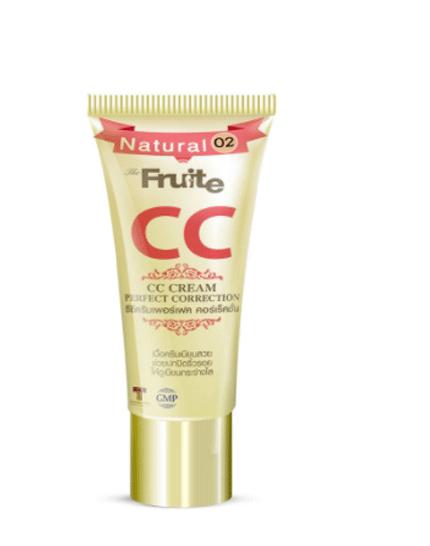 Корректирующий И Ухаживающий Тональный СС Крем Fruite CC Cream Perfect Corrcetion No.02