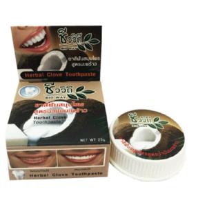Освежающая Зубная Паста С Гвоздикой И Кокосом Bio Way Herbal Clove Toothpaste Coconut