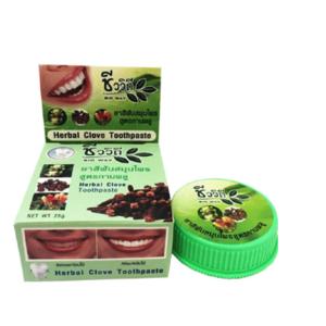 Зубная Паста Отбеливающая С Гвоздикой Bio Way Herbal Clove Toothpaste