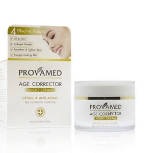 Антивозрастной, Восстанавливающий Ночной Крем От Морщин Provamed Age Corrector Night Cream, 15 гр.