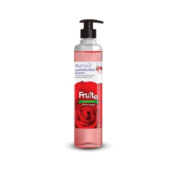 Нежная Пена Для Душа С Тонким Запахом Розы Fruite The Sweet Rosy Body Wash