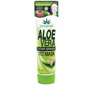 Ночной Крем-Маска Алоэ Вера Polvera Aloe Vera Star Grass Sleeping Mask 100 гр.