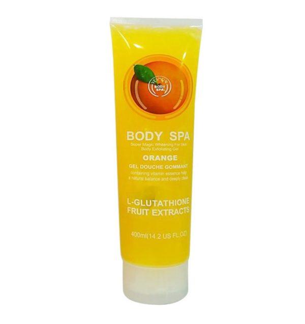 Гель Для Душа С Апельсином Body Spa Orange L-glutathione Fruit Extracts