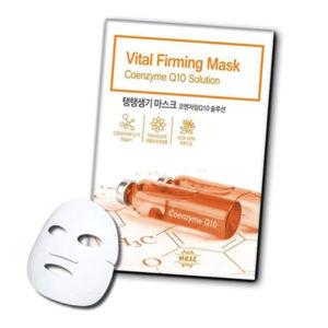 Укрепляющая Тканевая Маска С Коэнзимом Q10 Neil Vital Firming Mask Coenzyme Q10 Solution