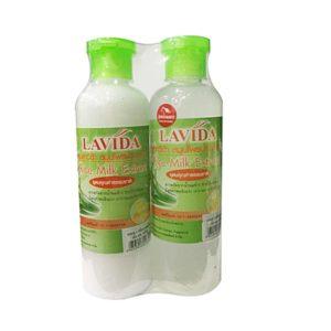 Шампунь+Кондиционер С Экстрактом Рисового Молочка Lavida Rice Milk Extract Shampoo+Conditioner
