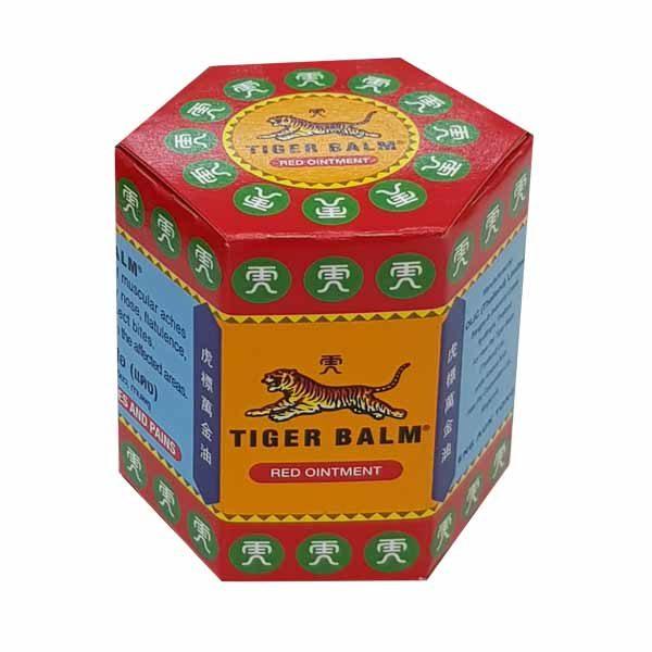 Красный тигровый бальзам, 30 гр.