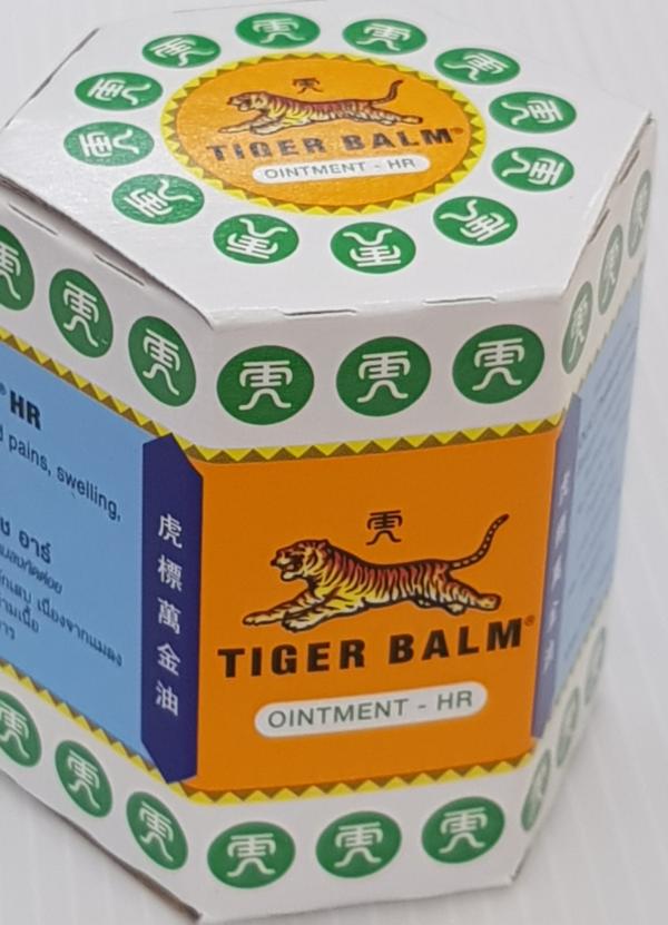 Тайский Белый Тигровый Бальзам Tiger Balm Hawpar - 30 гр.