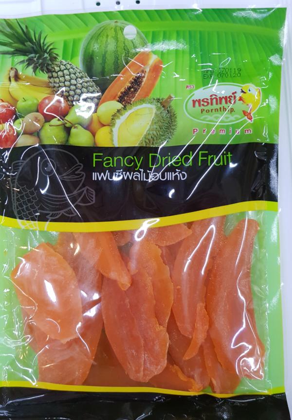 Манго Оранжевый Вяленый. Производство Таиланд