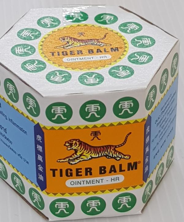 Тайский Белый Тигровый Бальзам Tiger Balm Hawpar - 10 гр.