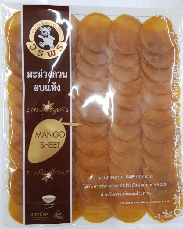Манго Вяленый. Производство Таиланд