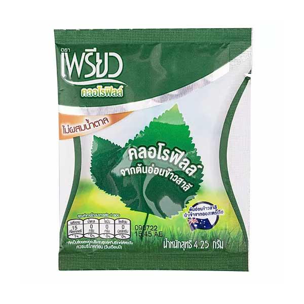 Питьевой тайский хлорофилл