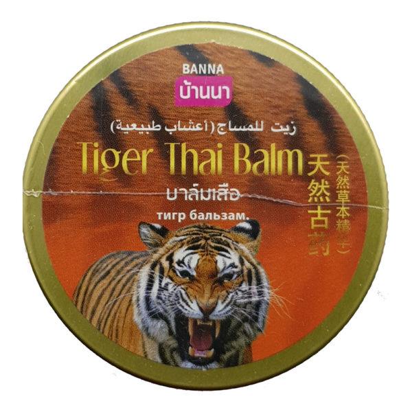 Тайский Тигровый Бальзам Banna Tiger Thai Balm