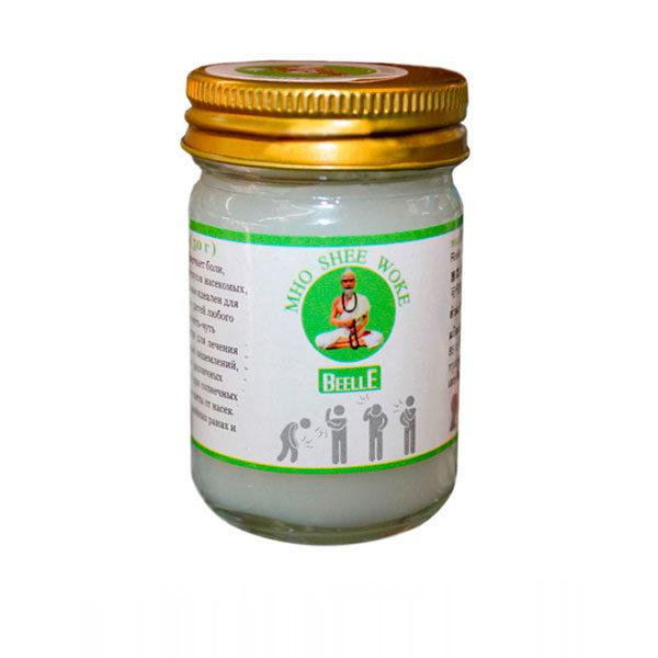 Белый бальзам с имбирным маслом