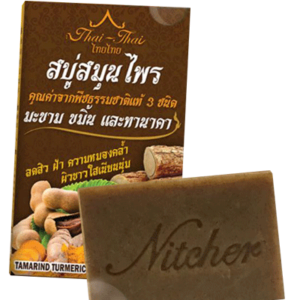 Мыло От Акне С Тамариндом, Танакой И Куркумой Thai Thai Nitcher Herbal Soap
