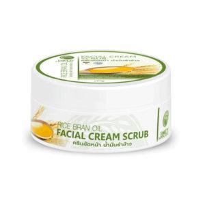 Скраб-Крем Для Лица И Тела Из Рисовых Отрубей Body House Rice Bran Oil Facial Cream Scrub