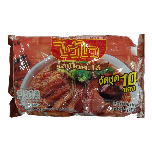 Тайская Лапша WAI WAI Со Вкусом Утки И Ароматными Травами