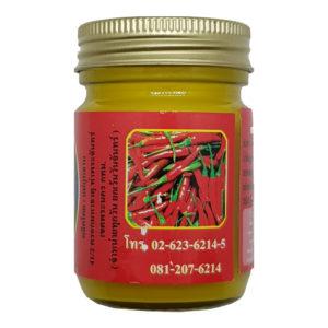 Желтый Тайский Бальзам Имбирь Ме Кулаб Hamar Osoth, 50 гр