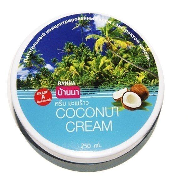 Крем Питательный С Кокосом Coconut Cream Banna