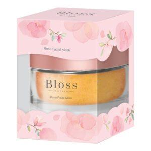 Маска С Экстрактом Розы И Алоэ Вера Bloss Rose Facial Mask