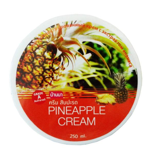 Крем С Экстрактом Ананаса, Коэнзимом Q10 И Витамином Е Pineappple Cream Banna