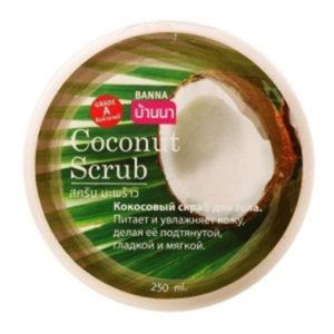 Кокосовый Скраб Coconut Scrub Banna