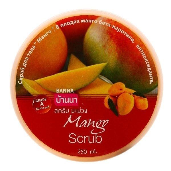Манговый Скраб Mango Scrub Banna