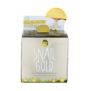 Крем С Секрецией Улитки И Золотом Cathy Doll Snail Gold Firming Cream