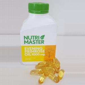 Примула Вечерняя В Капсулах Nutri Master Evening Primrose Oil 1000 mg