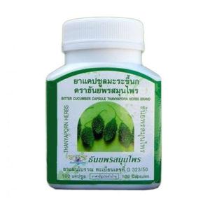 Капсулы Для Лечения Сахарного Диабета И Снижения Сахара Thanyaporn Herbs Bitter Cucumber