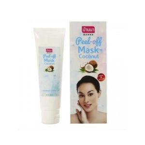 Маска-Пленка Для Лица С Кокосовым Маслом Banna Peel Off Coconut Mask