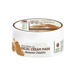 Маска Для Лица И Тела Из Рисовых Отрубей Body House Rice Bran Oil Facial Cream Mask