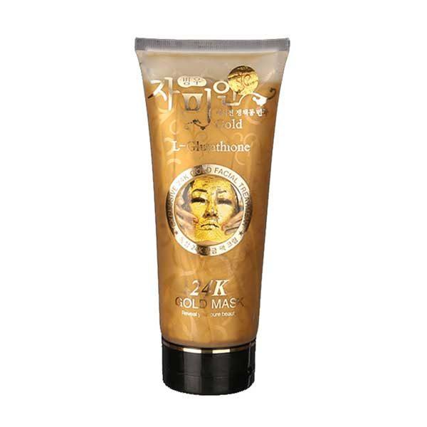 Золотая маска с 24k ЗОЛОТОМ