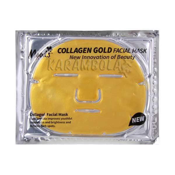 Коллогеноая маска с золотом от Moods
