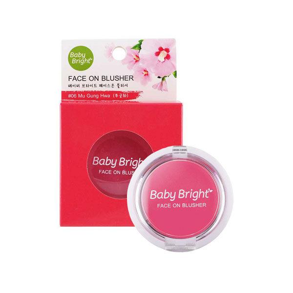 Румяна Для Лица Baby Bright Face On Blusher
