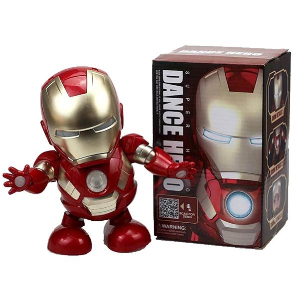 Железный человек Super Dance Hero